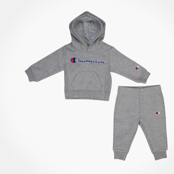 3b93b09f3 Champion Matching Sets | Infant Sweatsuit | Poshmark